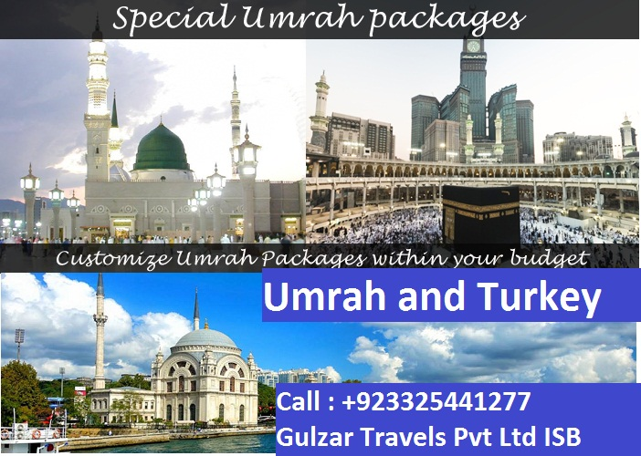 Umrah and Turkey Package from Pakistan